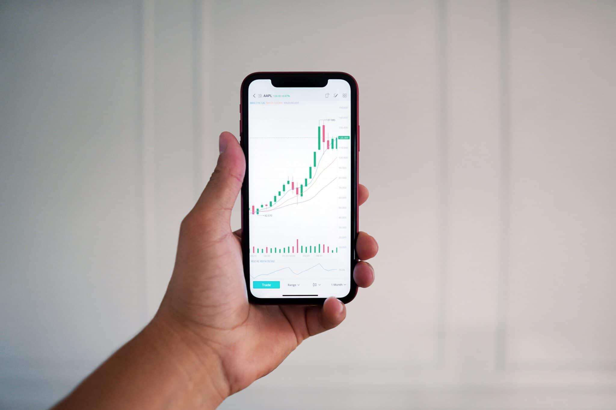 Geldanlage per App